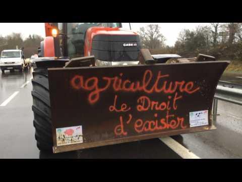 La colère des agriculteurs du pays de Dinan