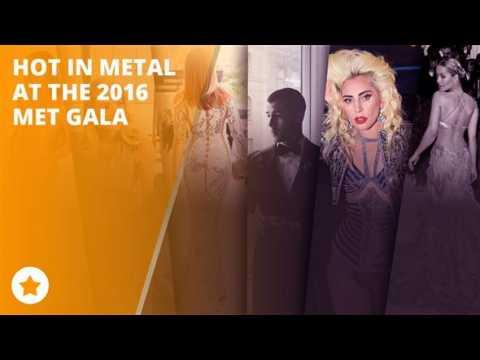 The MET geoes Metal on the red carpet