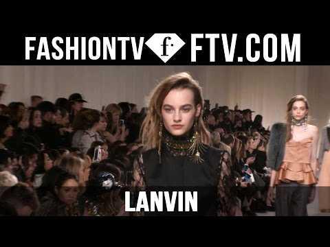 First Look Lanvin F/W 15-16 Paris Fashion Week | FTV.com