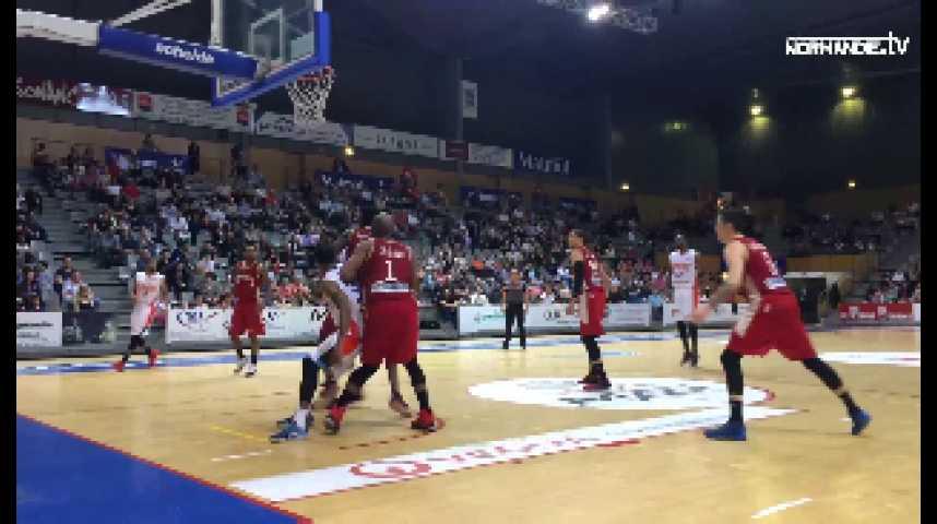 Basket-ball : Saint-Thomas quitte la Pro A avec dignité face à Strasbourg (69-76)