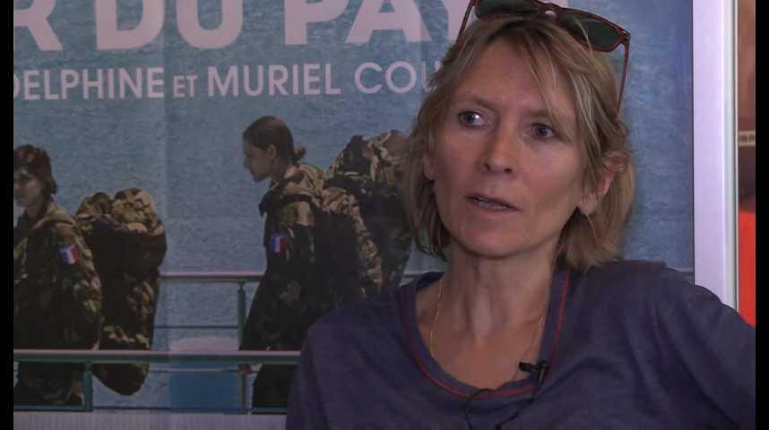 """Muriel Coulin, réalisatrice du film """"Voir du Pays"""""""