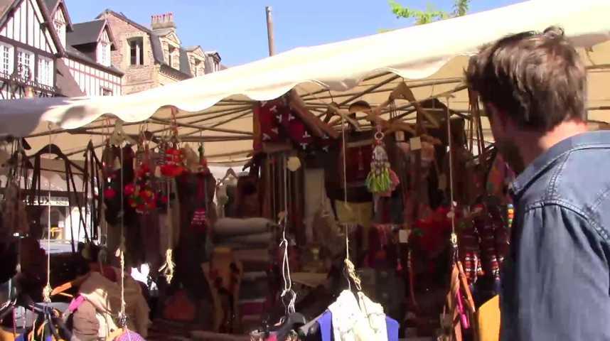 Tendance - Mag - Balade au marché de Deauville