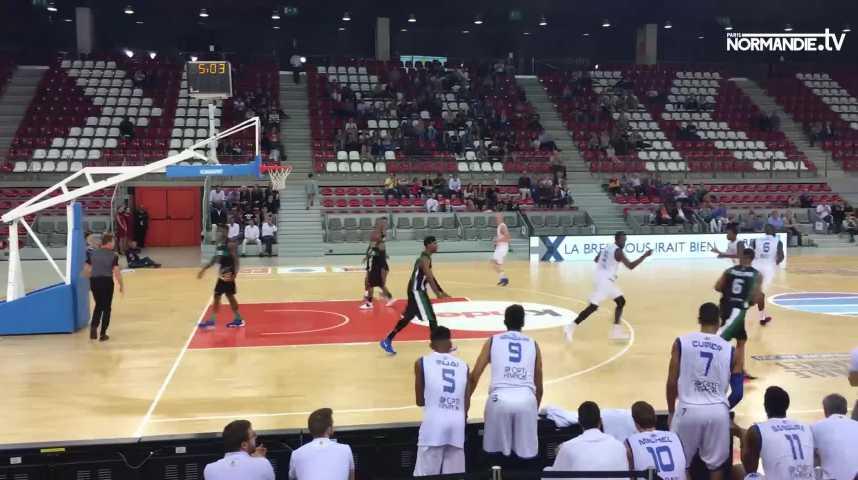 Le Rouen Métropole Basket s'est imposé devant Blois (68-59)