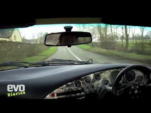 Harry's Garage- TVR Griffith last drive- Evo Magazine video diary