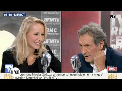 PACA: Marion Maréchal Le Pen ne connaît pas le nombre d'habitants de sa région - ZAPPING ACTU DU 27/09/2016