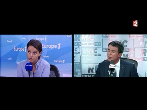 Burkini : Manuel Valls désavoue Najat Vallaud-Belkacem - ZAPPING ACTU DU 25/08/2016