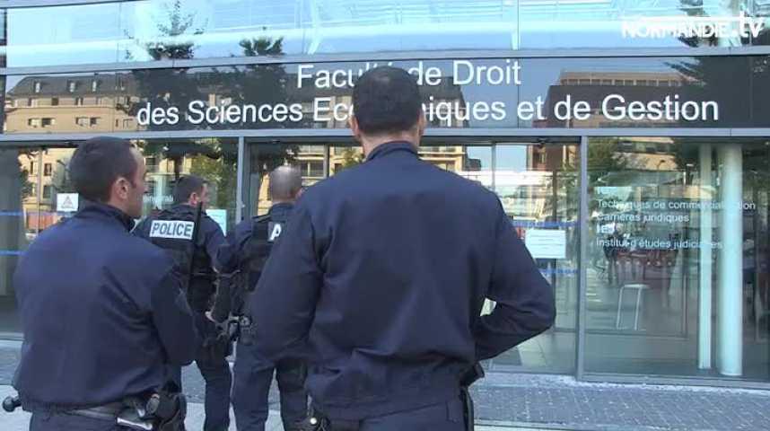 Evacuation de la fac de droit après l'arrestation d'un individu fiché S