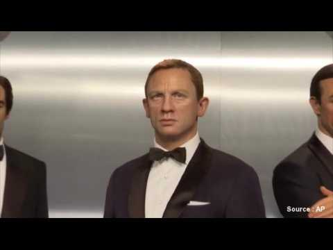Six James Bond réunis au musée Madame Tussauds