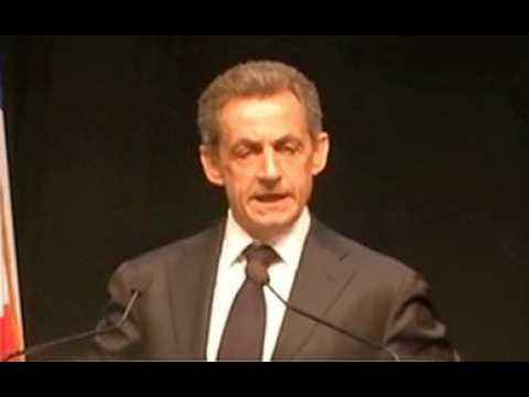 La phrase incompréhensible de Nicolas Sarkozy