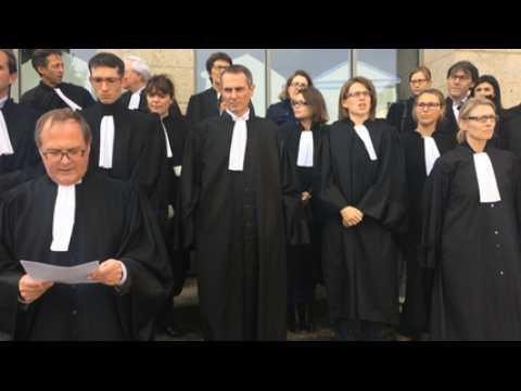 Grève des avocats Vannetais