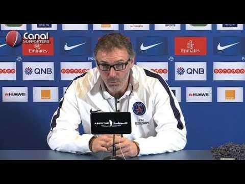 Rennes / PSG - La confe?rence de presse de Laurent Blanc