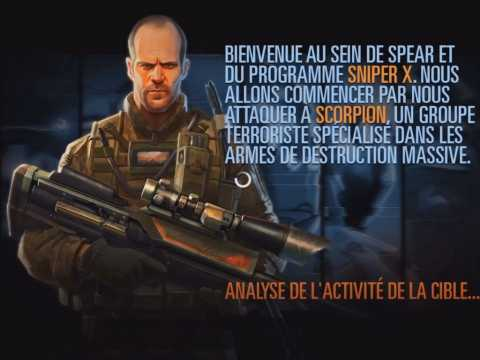 Sniper X With Jason Statham : vidéo de gameplay