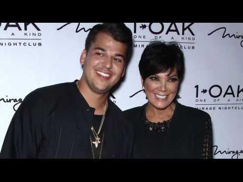 Rob Kardashian a manqué l'anniversaire de Kris Jenner