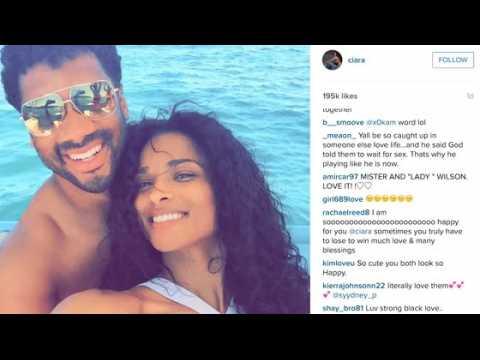 Russell Wilson et Ciara sur les plages Mexicaines