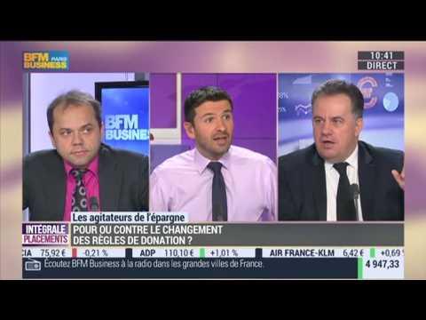 Les agitateurs de l'épargne (1/2) : Jean-François Filliatre VS Jean-Pierre Corbel : pour ou contre le changement de règles de donation ? - 03/12