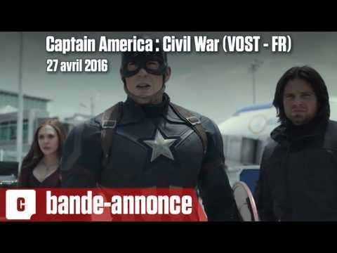 Captain America : Civil War - Première bande-annonce (VOST - FR)
