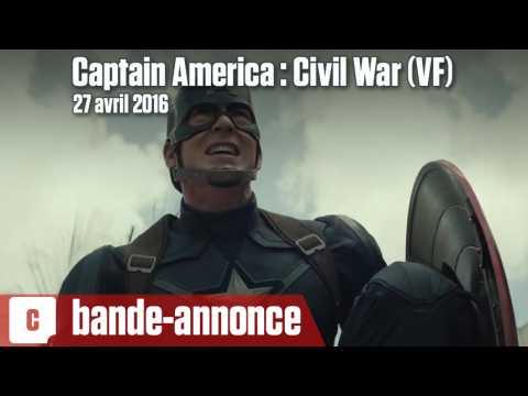 Captain America : Civil War - Première bande-annonce (VF)