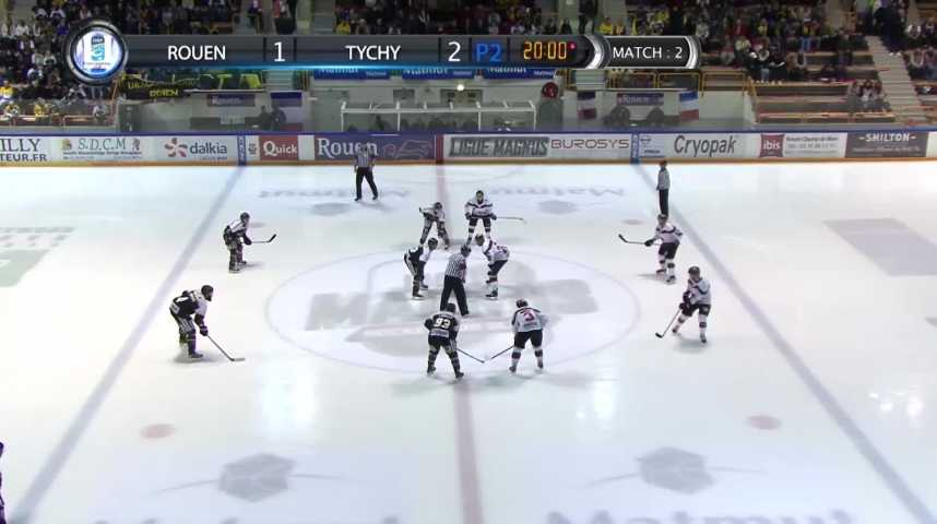 100% Dragons - Match Rouen vs Tychy