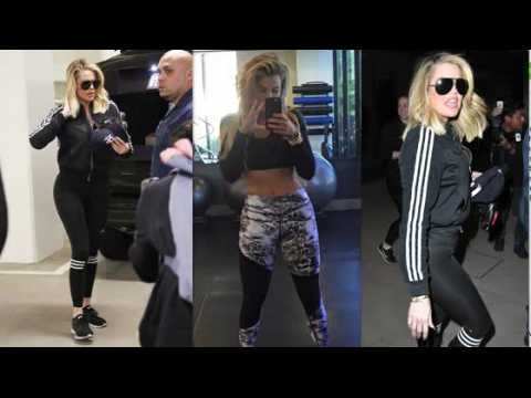 Khloe Kardashian retourne à la gym après un mois de congé