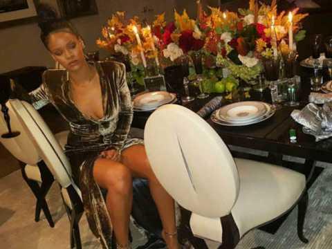 Vidéo : Rihanna prépare la dinde de Thanksgiving en dansant !