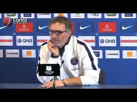 PSG / Toulouse - La confe?rence de presse de Laurent Blanc