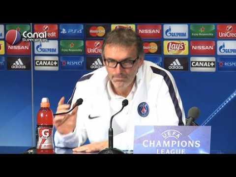 PSG / Real - La confe?rence de presse de Laurent Blanc