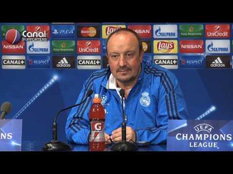 PSG / Real - La confe?rence de presse de Benitez