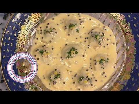 Saint Jacques au caviar de Joël Robuchon