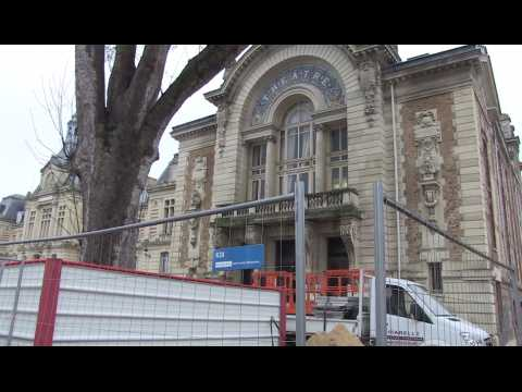 Le théâtre Legendre d'Evreux est en travaux