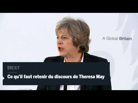 Que retenir du discours de Theresa May ?