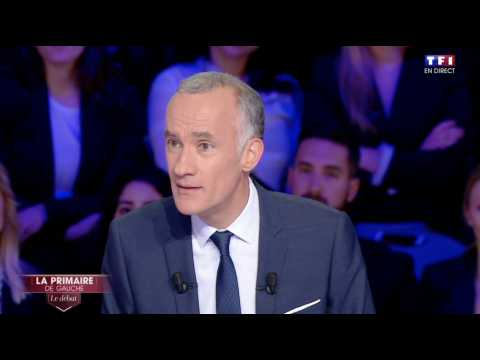 Grosse tension entre Manuel Valls et Gilles Bouleau - ZAPPING TÉLÉ DU 13/01/2017