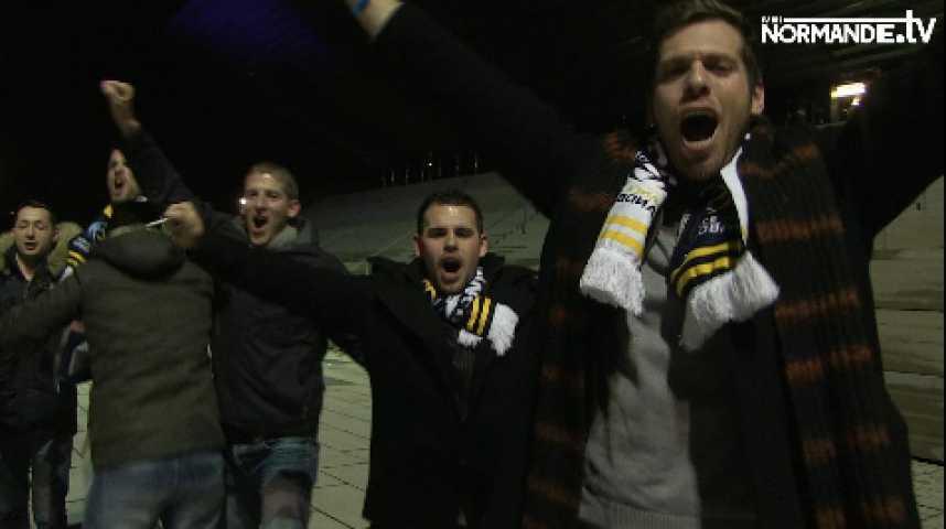 Les Allemands sont heureux de ce premier match de hand à Rouen