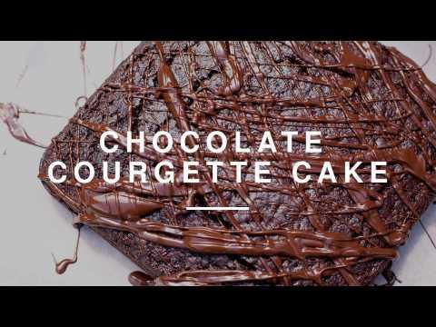 Vegan Chocolate Courgette Cake   Izy Hossack   Wild Dish