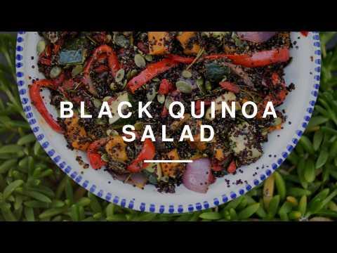 Black Quinoa Salad w Anne-Marie | Madeleine Shaw | Wild Dish