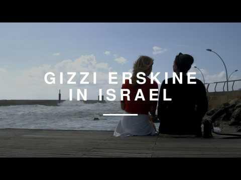 Gizzi Erskine - Behind the Scenes in Israel
