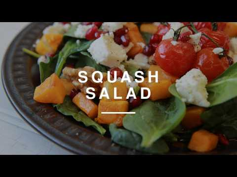 Quick Squash & Feta Salad   Wild Dish