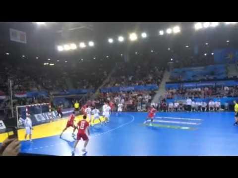 Mondial de handball : Croatie-Hongrie