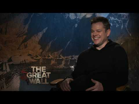 Exclusive Interview: Matt Damon loves being surrounded by girls