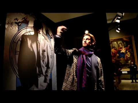 Trussardi - Menswear collection Autumn/Winter 2017/18 in Milan (with interview)