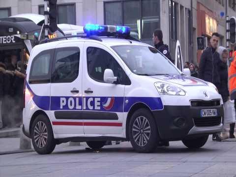 Folle course-poursuite dans les rues de Rouen