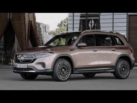 Mercedes-Benz EQB Design Preview