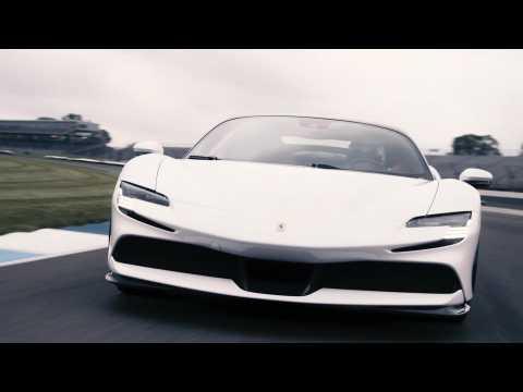 Ferrari SF90 Stradale Sets Production Car Lap Record at Indianapolis Motor Speedway - Recap