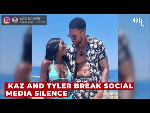 Love Island's Kaz and Tyler finally update fans on their relationship