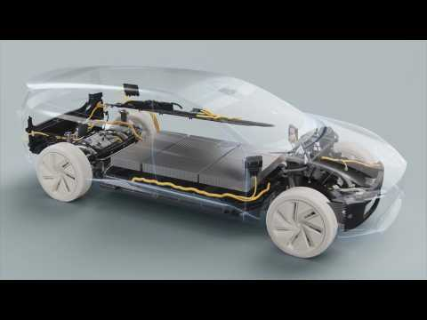 Volvo Cars - Tech Moment - Batteries and Propulsion animation