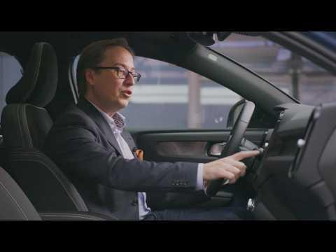 Volvo C40 Recharge - user experience