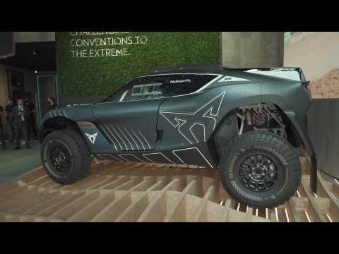 CUPRA unveils the Tavascan Extreme E Concept, a reinterpretation of the e-CUPRA ABT XE1