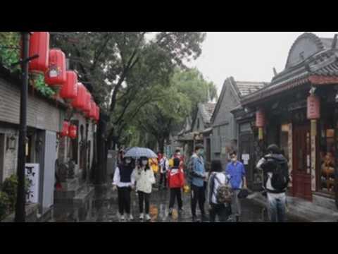 Tourists enjoy Mid-Autumn Festival holidays in China