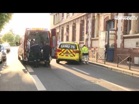 Intoxication alimentaire dans les écoles publiques de Rouen
