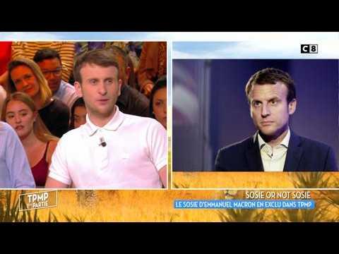 Le sosie d'Emmanuel Macron se confie dans Touche pas à mon poste !