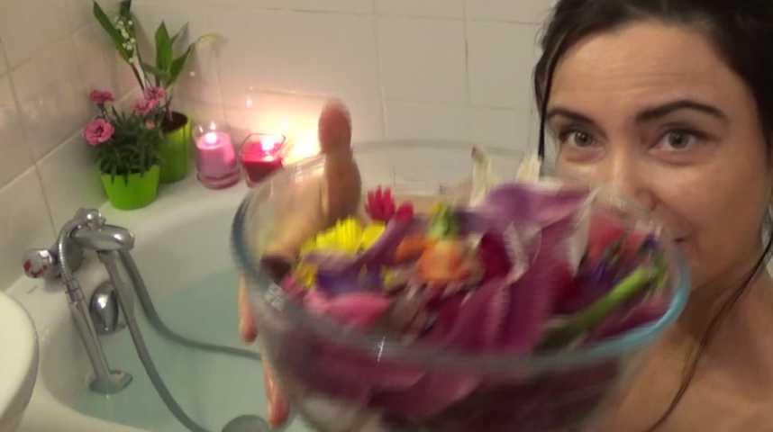 Tendance - Mag - Le bain floral